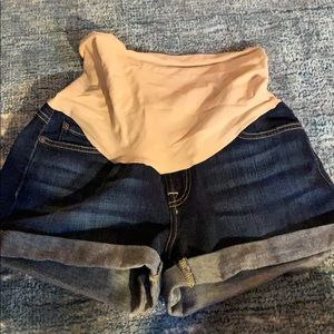 Maternity 7 for all mankind jean shorts